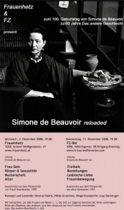 FLYER: Simone de Beauvoir reloaded